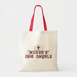 Las enfermeras son bolso de los ángeles