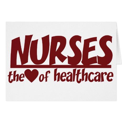Las enfermeras son el corazón de la atención sanit felicitaciones