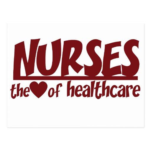 Las enfermeras son el corazón de la atención sanit postal
