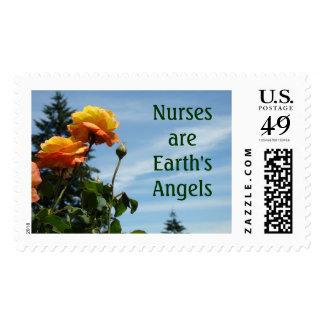 Las enfermeras son sellos de los ángeles de la