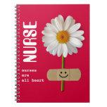 Las enfermeras son todo el corazón. Cuaderno sonri