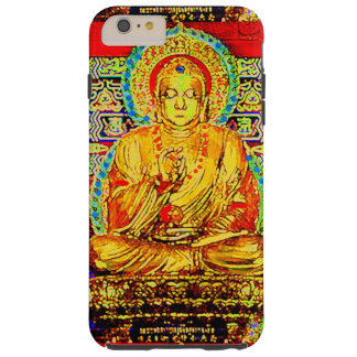 LAS ENSEÑANZAS DEL EFECTO DE BUDDHA-JEWELED FUNDA DE iPhone 6 PLUS TOUGH