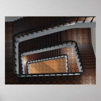 Las escaleras de Karen Póster