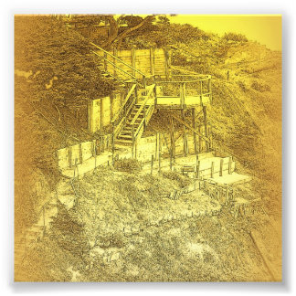 Las escaleras de la casa del dólar impresiones fotográficas
