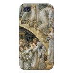 Las escaleras de oro iPhone 4/4S carcasas