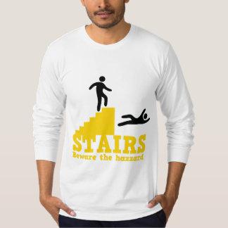 ¡Las escaleras se guardan del Hazzard! Playera