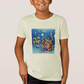 Las escuelas hacia fuera gradúan las camisetas