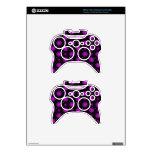 Las esferas negras y púrpuras 3D texturizaron dise Mando Xbox 360 Skins
