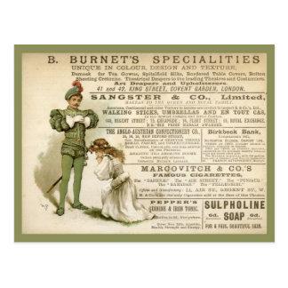 Las especialidades de Burnet