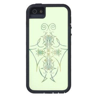 Las espinas de un bosque en el verde 1 iPhone 5 Case-Mate cárcasa