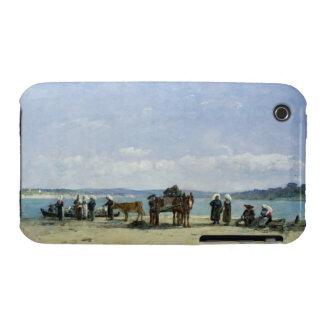 Las esposas de los pescadores bretones, 1870-73 iPhone 3 protectores