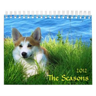 Las estaciones, 2012 calendarios