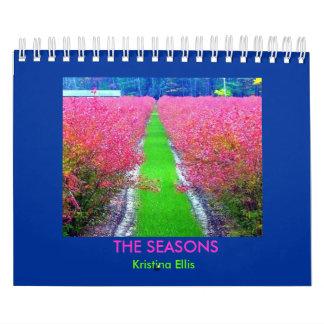 Las estaciones calendario