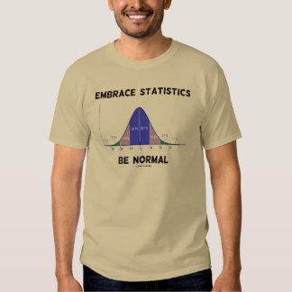 Las estadísticas del abrazo sean normales (la playera