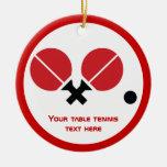 Las estafas y la bola del ping-pong de los tenis d ornatos