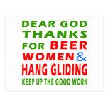 Las estimadas gracias de dios por mujeres de la ce postal