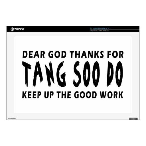Las estimadas gracias de dios por Tang Soo continú Portátil Skins