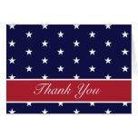 Las estrellas de la bandera americana le agradecen