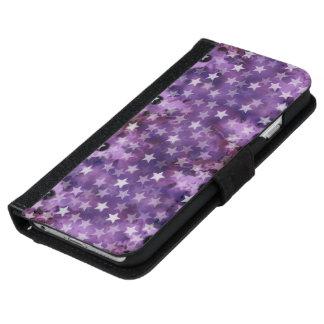 Las estrellas de la caja de la cartera del iPhone Carcasa De iPhone 6