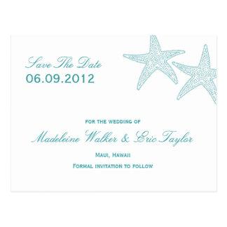 Las estrellas de mar ahorran la postal de la fecha