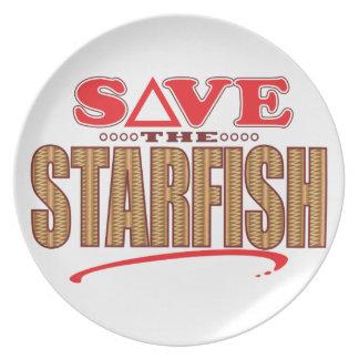 Las estrellas de mar ahorran platos de comidas