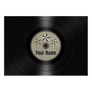 Las estrellas del gris personalizaron el álbum de  tarjetas de visita