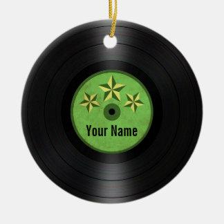Las estrellas del verde personalizaron el álbum de adorno de navidad