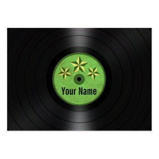 Las estrellas del verde personalizaron el álbum de plantilla de tarjeta personal