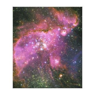 Las estrellas jovenes esculpen la pequeña nube de  impresiones de lienzo