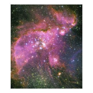 Las estrellas jovenes esculpen la pequeña nube de  fotografia