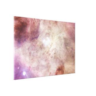 Las estrellas más grandes de la nebulosa de Orión Impresión En Lienzo