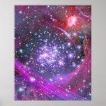 Las estrellas más pesadas en la galaxia, sagitario impresiones