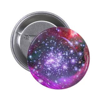 Las estrellas más pesadas en la galaxia, sagitario pin redondo de 2 pulgadas
