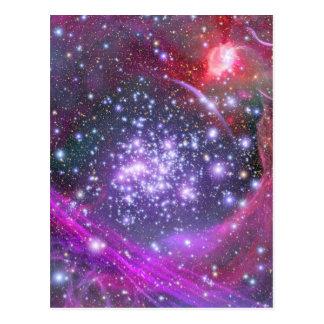 Las estrellas más pesadas en la galaxia, sagitario tarjeta postal