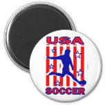 Las estrellas N de los E.E.U.U. rayan fútbol Iman De Frigorífico