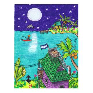 Las Estrellas postcard