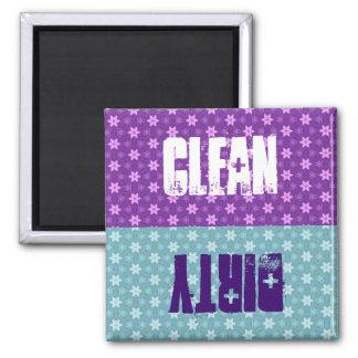 Las estrellas púrpuras o azules limpian el imán para frigorifico