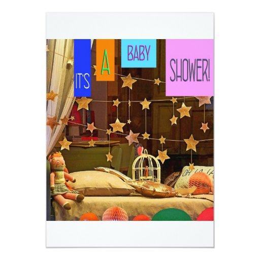 """Las estrellas son invitaciones alineadas de la invitación 5"""" x 7"""""""