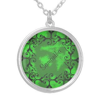 Las estrellas tonales del verde de la elegancia grimpolas