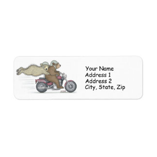Las etiquetas de dirección de Gruffies®