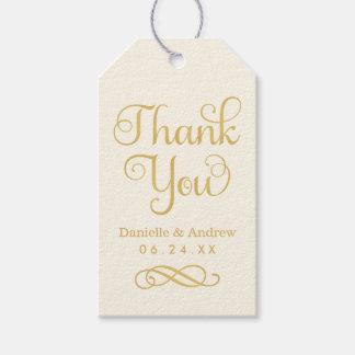 Las etiquetas del favor del boda el | le agradecen etiquetas para regalos