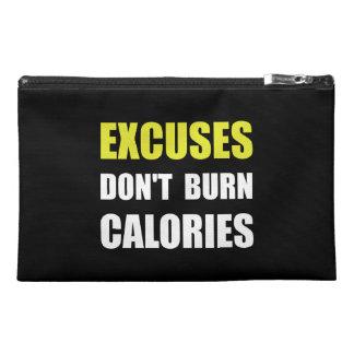 Las excusas no queman calorías