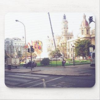 Las Fallas De Valencia Spain Mouse Pad