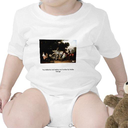 Las familias de Milbanke y de Melbourne Camiseta