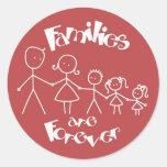 Las familias son Forever Etiquetas
