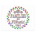 Las familias son Funtastic Postales