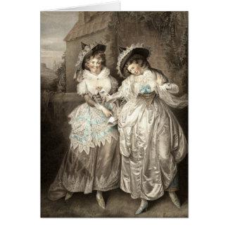 Las felices esposas de Shakespeare de la tarjeta d