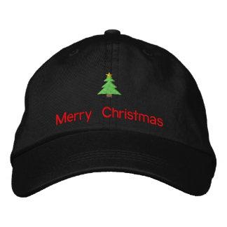 Las Felices Navidad bordaron el gorra Gorra Bordada