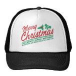 Las Felices Navidad - celebre el cumpleaños de Jes Gorro