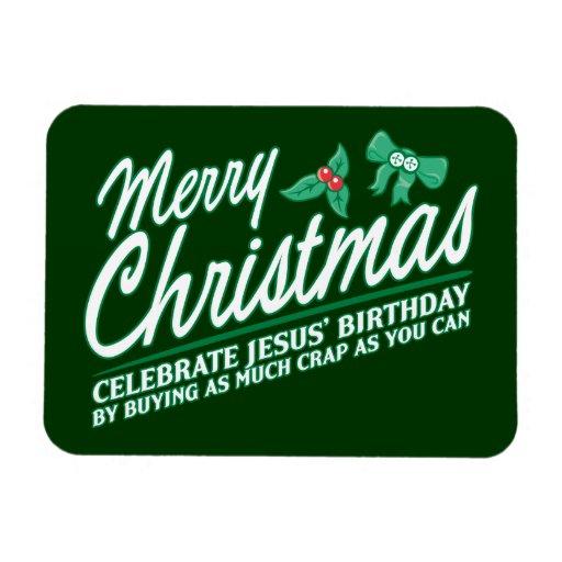 Las Felices Navidad - celebre el cumpleaños de Jes Imanes